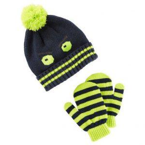Conjuntos de chapéu e luvas